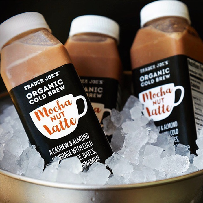 Trader Joe's Goes Nuts for Dairy-Free Cold Brew