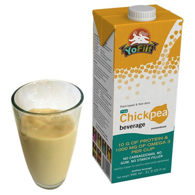 Yofiit releases the first dairy-free chickpea milk beverage