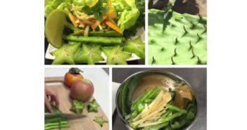 Cactus Salad Recipe from True Seasons Organic Kitchen