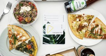 Virtuous Pie is a new hotspot for dairy-free vegan handcrafted pizza and ice cream in Portland, Oregon!