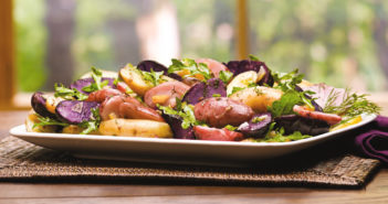 Fingerling Potato Salad Recipe - a fresh, flavorful dish that's naturally dairy-free, gluten-free, plant-based, and allergy-friendly