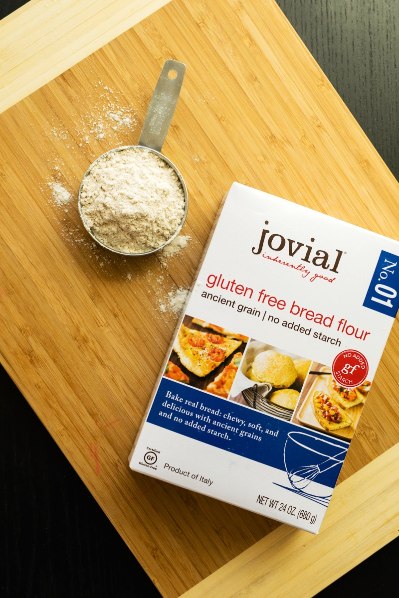 Jovial Gluten-Free, Dairy-Free Flour Blends with No Starches!