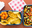 5 Super Easy Kids Lunch Ideas - School-safe, Dairy-free, Plant-based (Southwestern Salsa Box pictured)