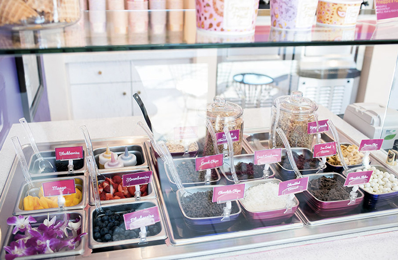 Frozen Fruit Co is serving up fruit soft serve that is completely dairy-free, vegan, nut-free, and soy-free!