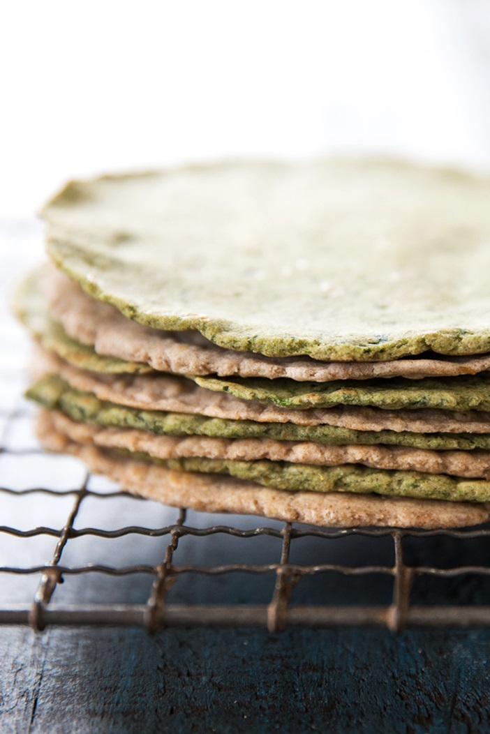 Homemade Gluten-Free Spinach Tortillas - Top Allergen-Free and Vegan Recipe