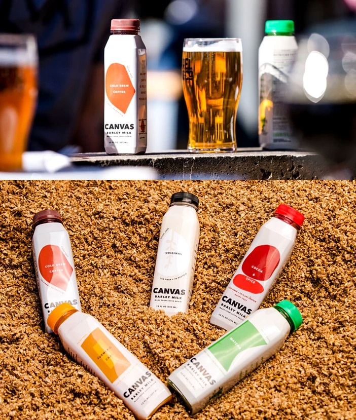 New Dairy-Free Barley Milk Uses Spent Grain from Beer Making Process