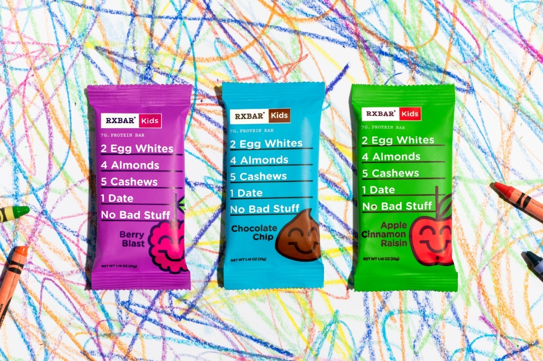 RX Bar Releases New Paleo Kid's Bars