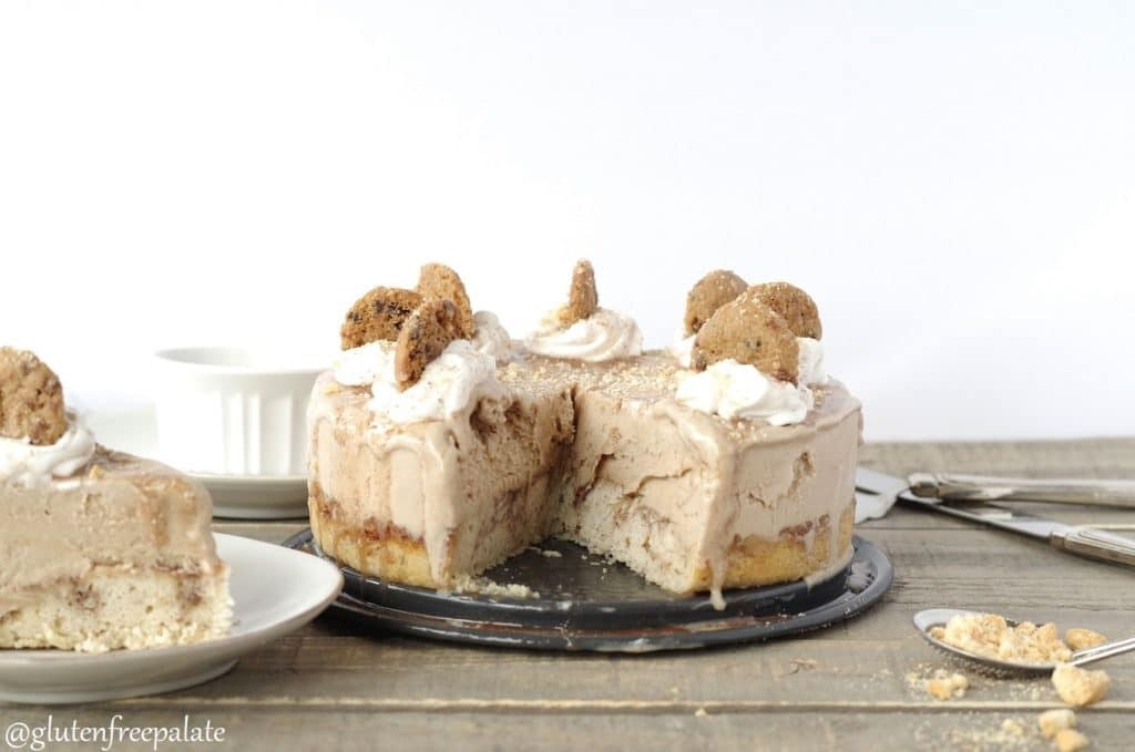 Cinnamon Roll Ice Cream Cake Recipe - A Vegan, Gluten-Free, Grand-Prize Dairy-Free Recipe Contest Winner. Tested and Loved!