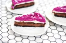 Dragon Fruit Ice Cream Pie Recipe - 5 Layers of Award-Winning Dairy-Free Frozen Dessert (vegan, gluten-free, and food allergy-friendly, too)