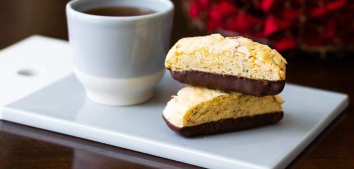Chocolate-Dipped Biscotti: Classic Dairy-Free, Gluten-Free & Vegan Recipes