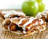 Vegan Apple Pie Bars: Double Crust Slices Layered with Fall Flavor