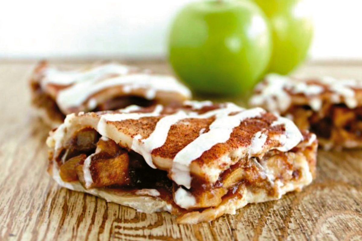 Vegan Apple Pie Bars Recipe: Double Crust Slices Layered with Fall Flavor (nut-free, soy-free and gluten-free optional)
