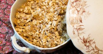 Soft Baked Granola Recipe - a dairy-free, gluten-free version that's fast and family-friendly