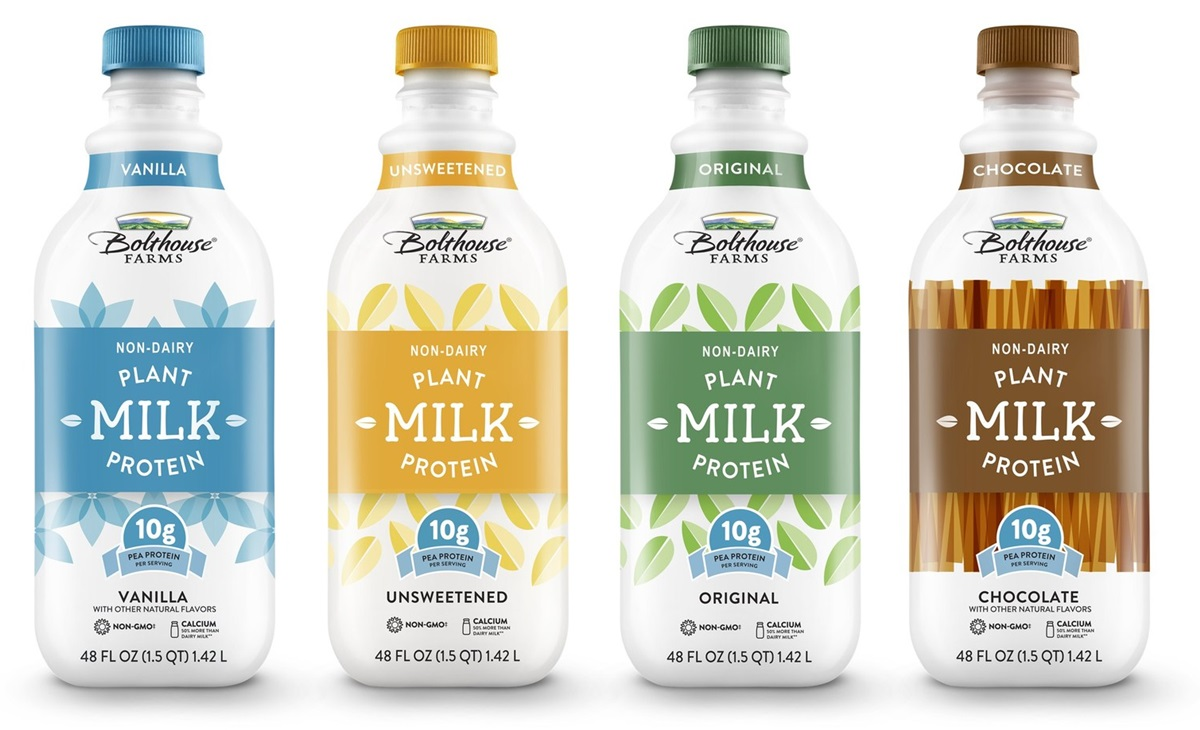 Bolthouse Farms Launches New Dairy-free Plant-Based Milk line made from Pea Protein