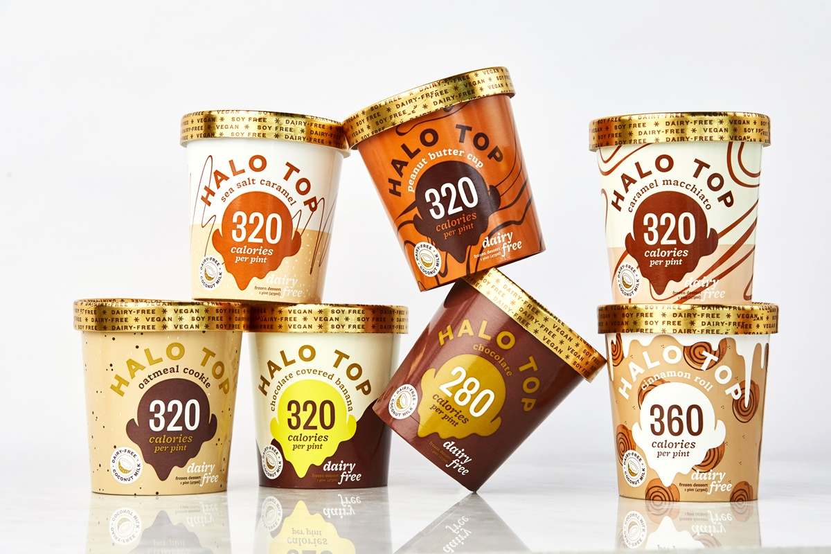 Halo Top Churns Out New Line of Dairy-Free Pints - 7 Low Calorie Vegan Ice Cream Flavors