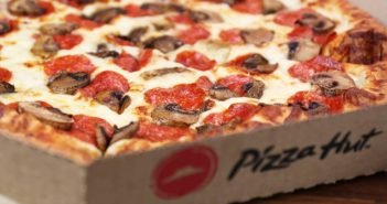 Pizza Hut Test Markets Dairy-Free Cheese at Select Shops in the United Kingdom