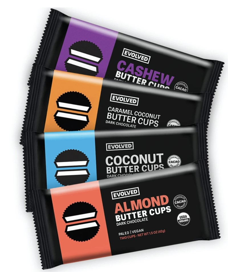 Evolved Nut Butter Cups are Purely Paleo and Vegan - Reviews and Info
