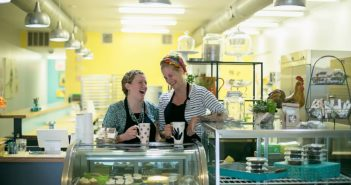 Happy Chicks Bakery in Cincinnati is a Quirky Vegan Bakeshop with ample sweets and savory eats