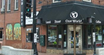 One World Cafe in Peoria, IL offers a big range of dairy-free, gluten-free, vegan, and vegetarian options