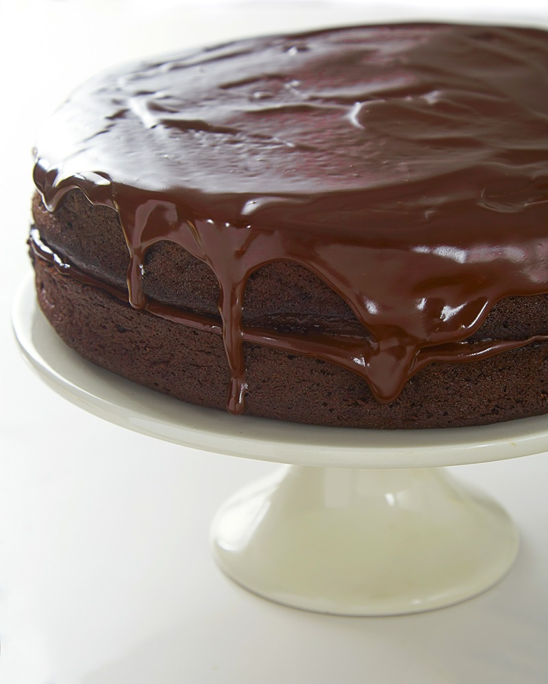 Perfect Dairy-Free Gluten-Free Chocolate Birthday Cake Recipe from Gluten-Free on a Shoestring