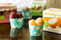 perfectlyfree non-dairy frozen bites - now available in 7 flavors! Top allergen-free, vegan-friendly, gluten-free, non-GMO frozen desserts