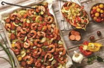 Spicy Sheet Pan Roasted Jambalaya