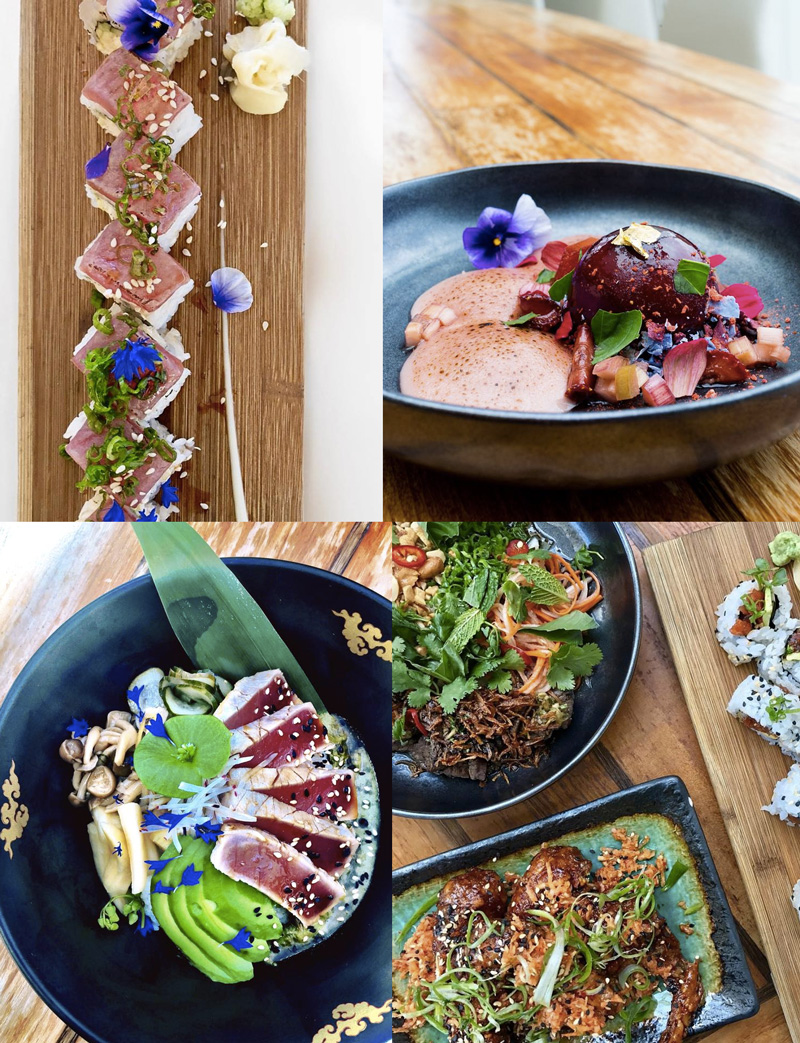 Departure in Portland, Oregon is a modern spot serving innovative pan-Asian cuisine with many dairy-free, vegan, and gluten-free options!