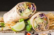 Chipotle and Lime Burritos from Vegan Burgers and Burritos