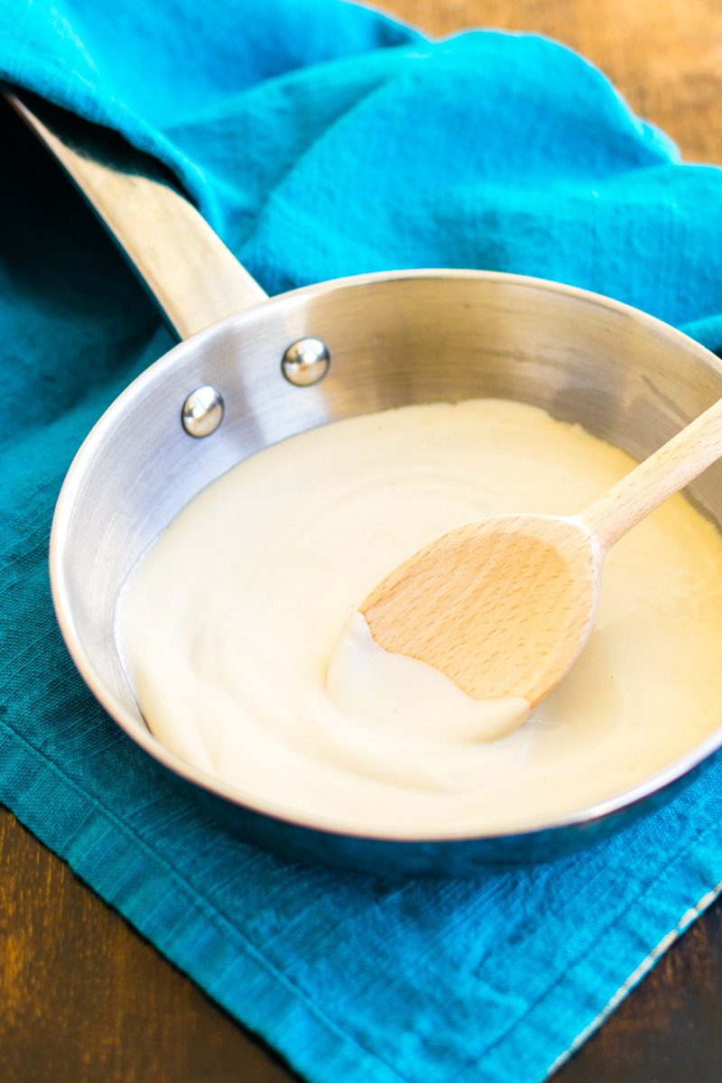Basic Dairy-Free Bechamel: 5 Minute Vegan and Allergy-Friendly White Sauce (nut-free, soy-free, gluten-free option)