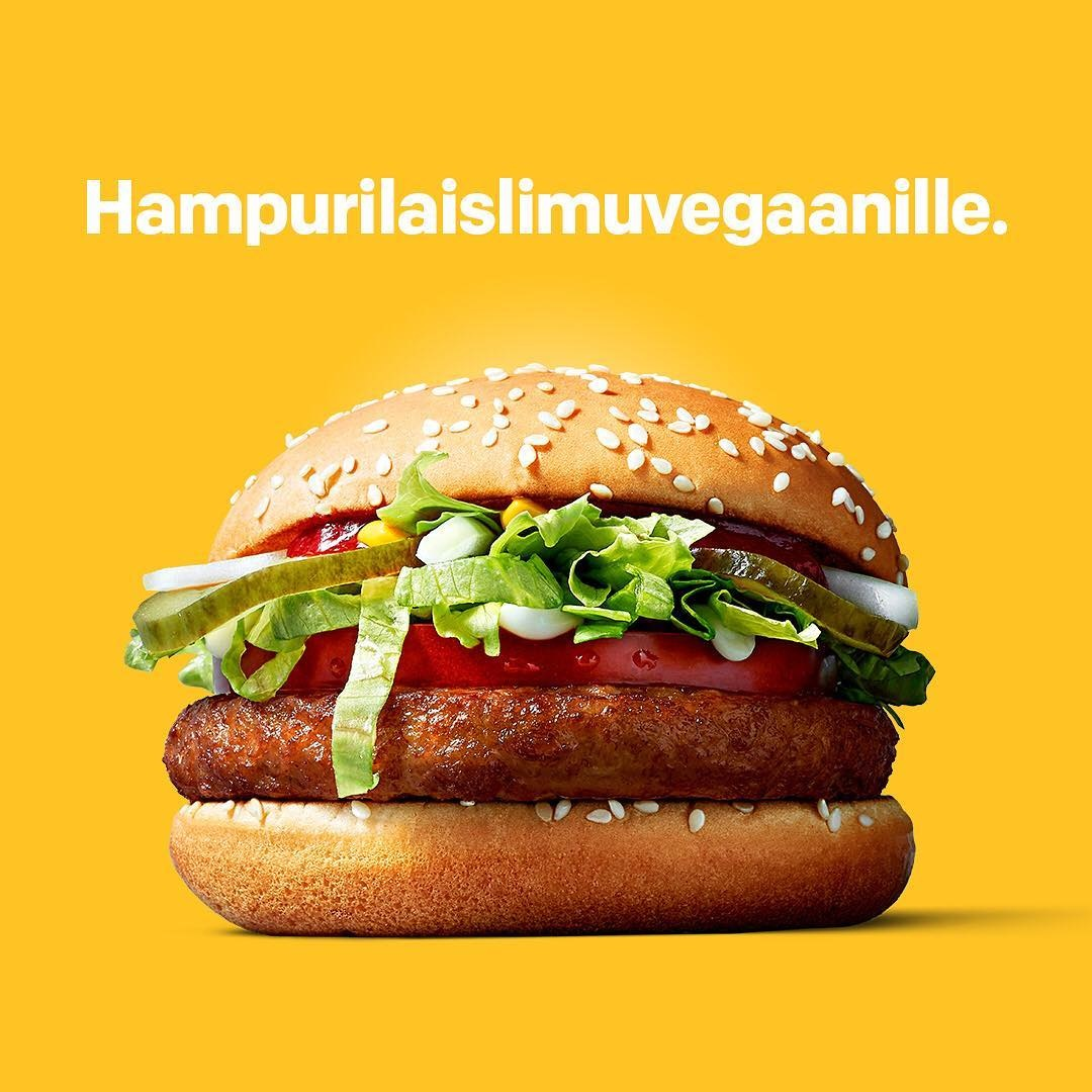 McDonald's Test Markets the McVegan in Finland
