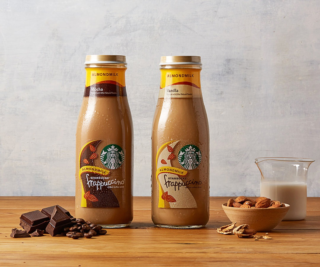 Starbucks Unveils New Non-Dairy Bottle Beverages