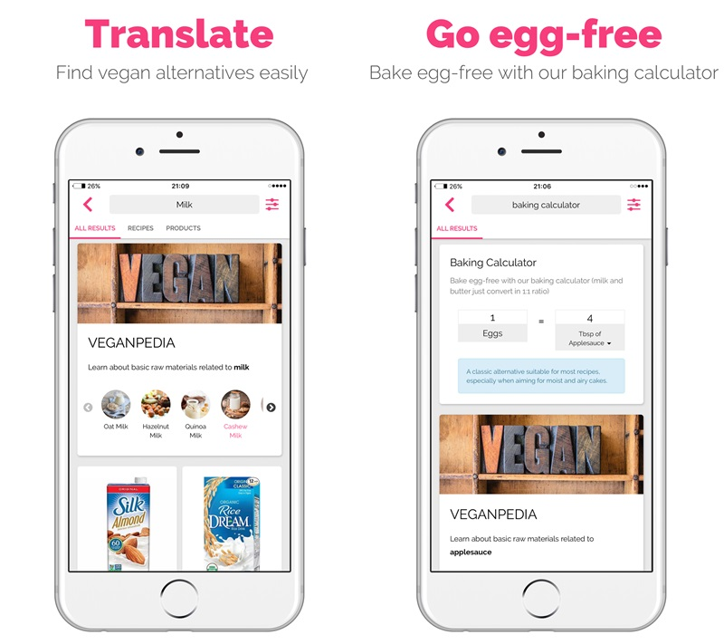 gonutss is the vegan translator app