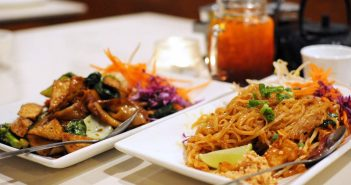 Araya's Place in Seattle and Los Angeles is a small chain of Vegan Thai Food Restaurants