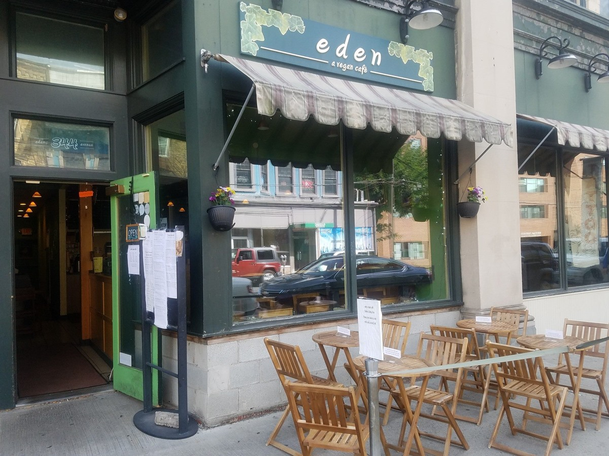 Eden-a Vegan Cafe in Scranton, PA is rich in comfort food
