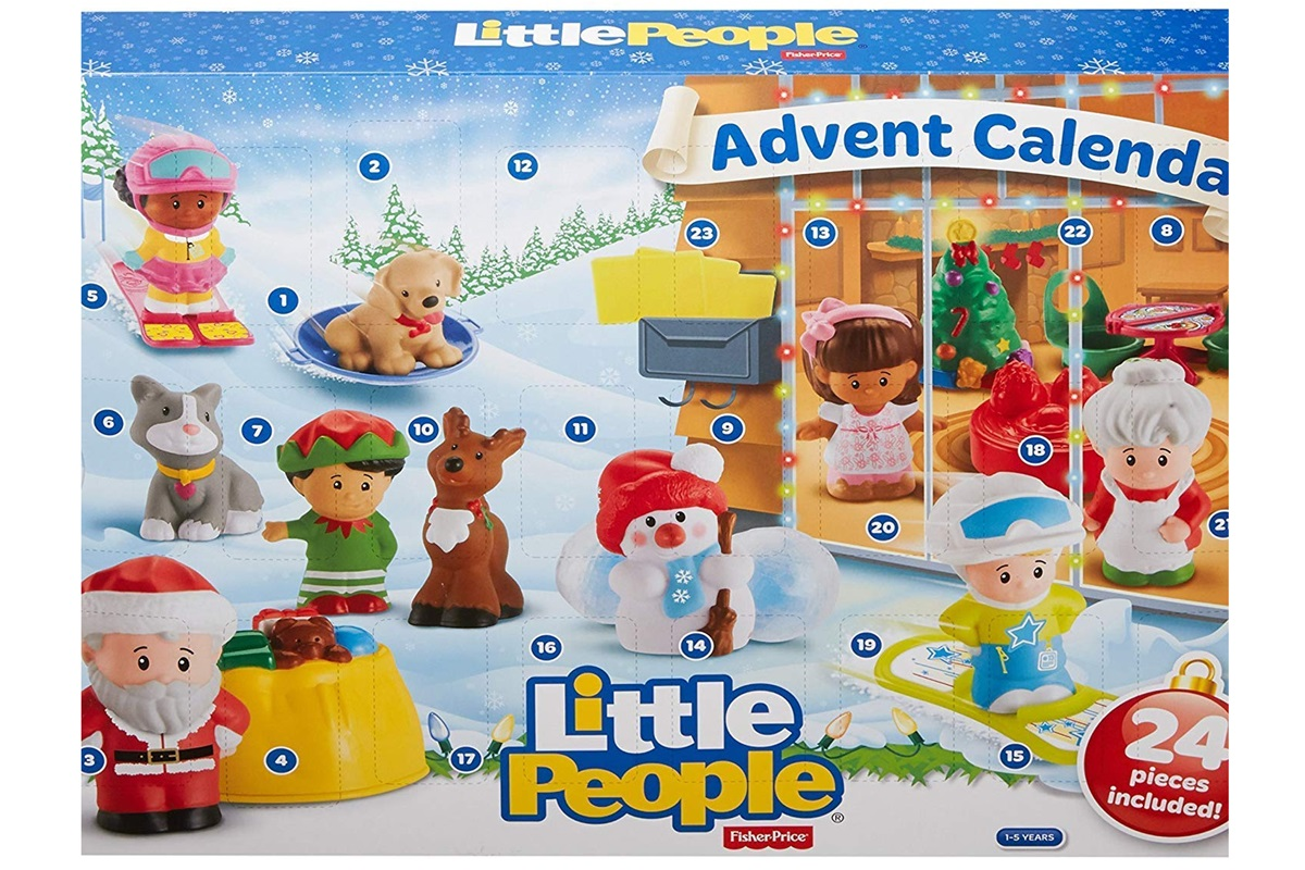 Toy Advent Calendars - Food-Free options!