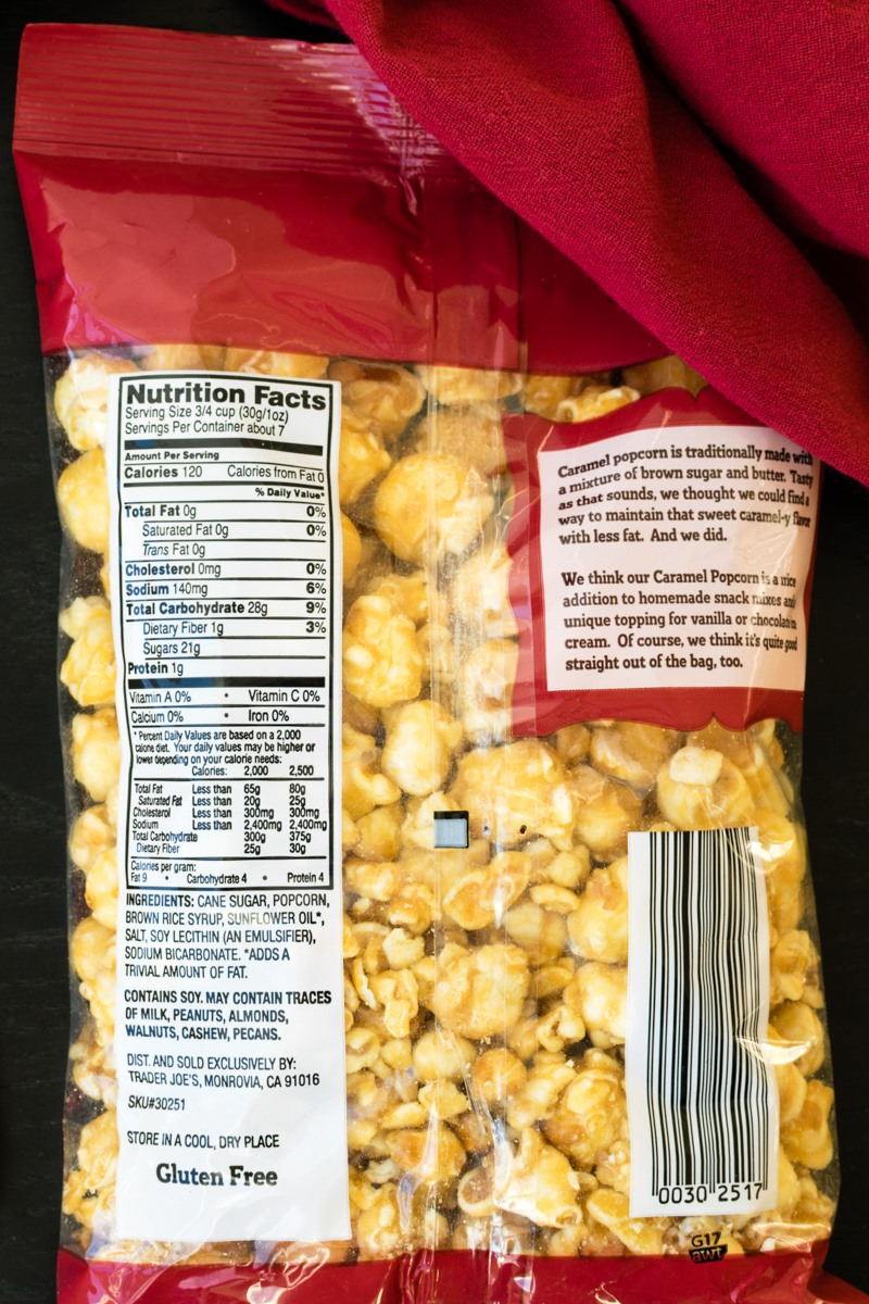Trader Joe S Caramel Popcorn Is A Sweet Vegan Gluten Free