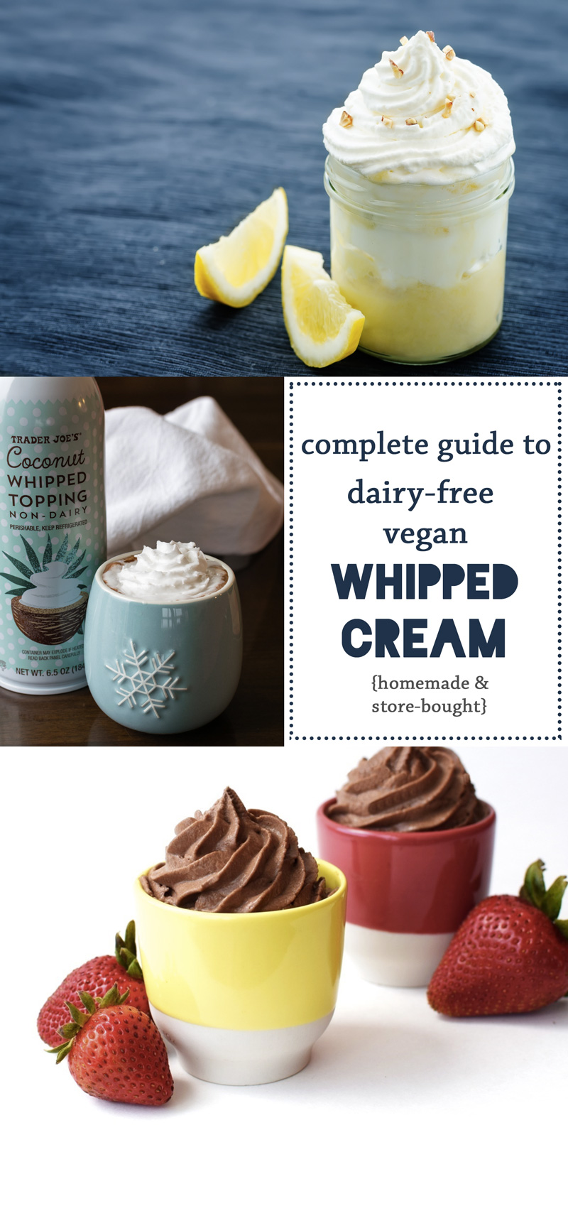Dairy-Free & Vegan Whipped Cream: The Guide to Products & Recipes