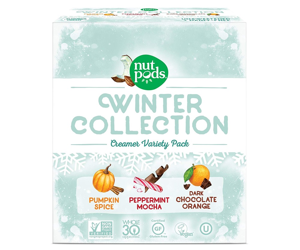 Dairy-Free Holiday Beverages - New Nutpods Creamer Winter Collection!