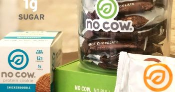 D's Naturals Rebrands to No Cow and Launches High Protein Cookies