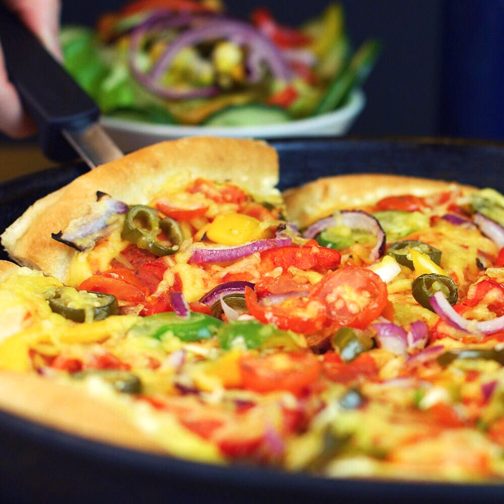 Pizza Hut UK Gives Vegan Cheese a Permanent Place on the Menu
