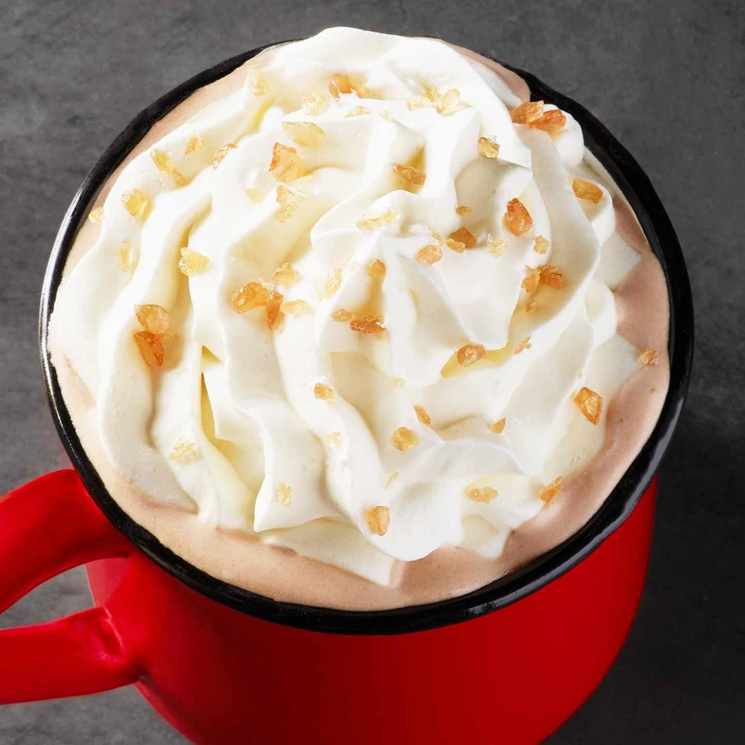 Starbucks Introduces Toffee Almondmilk Hot Cocoa with Dairy-Free Potential