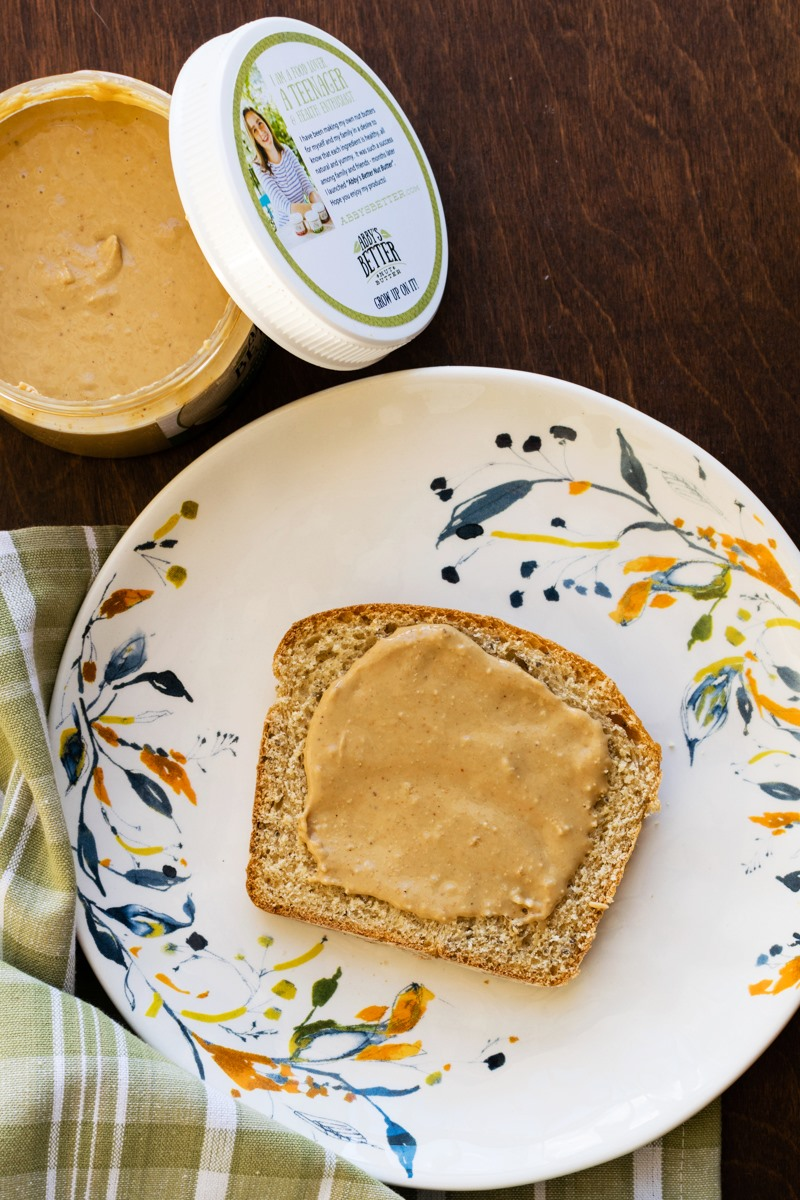 Abby's Better Nut Butter Review - high-quality cashew, almond and pecan butters from a 15-year-old entrepreneur!