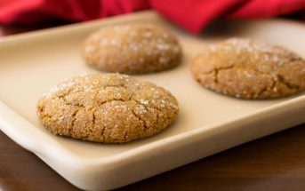 Big Molasses Cookies Recipe - Dairy-free, Nut-free, Soy-free + Vegan Options