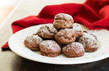 Chocolate Puffs for Hamilton Buffs - a naturally dairy-free, gluten-free, nut-free recipe - crunchy candy-like cookies!