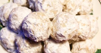 Vegan Snowball Cookies Recipe - dairy-free, egg-free, kids can cook treats (also known as Russian tea cakes)