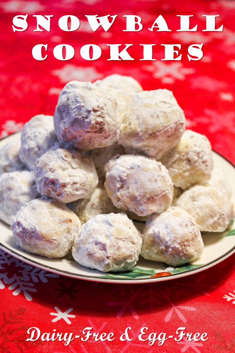 Vegan Snowball Cookies Recipe The Perfect Dairy Free Party Pastry