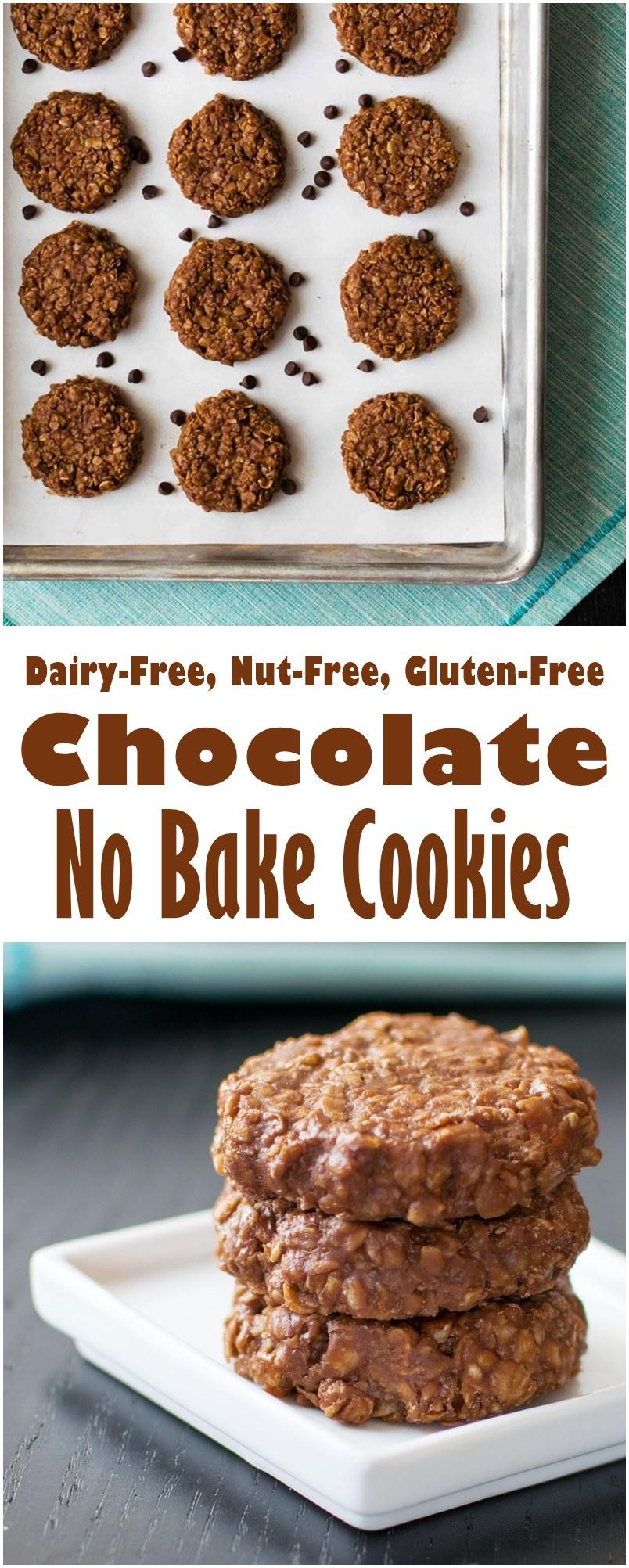 Chocolate No Bake Cookies Recipe (Dairy-Free, Nut-Free, Gluten-Free, Soy-Free, Vegan-Friendly!)