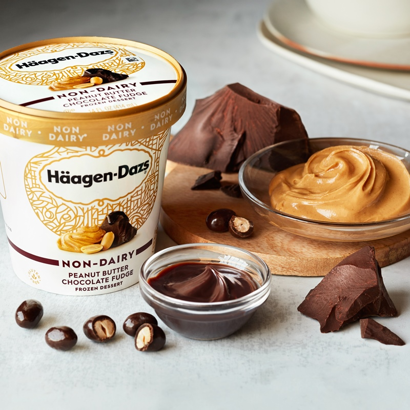 Häagen-Dazs releases their new non-dairy pints to numerous retailers nationwide (beyond Target!). The 4 dairy-free and vegan flavors include ...