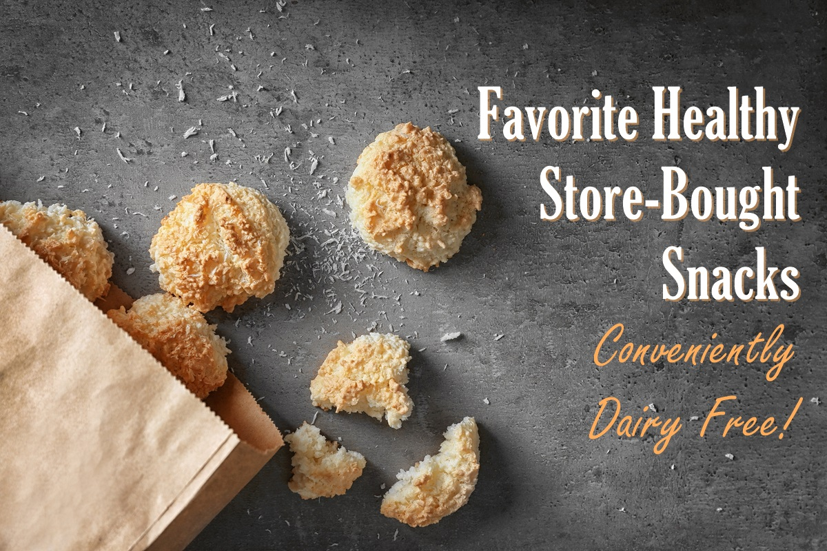 Eat Dairy Free Book Resources - Healthy Store-Bought Snacks
