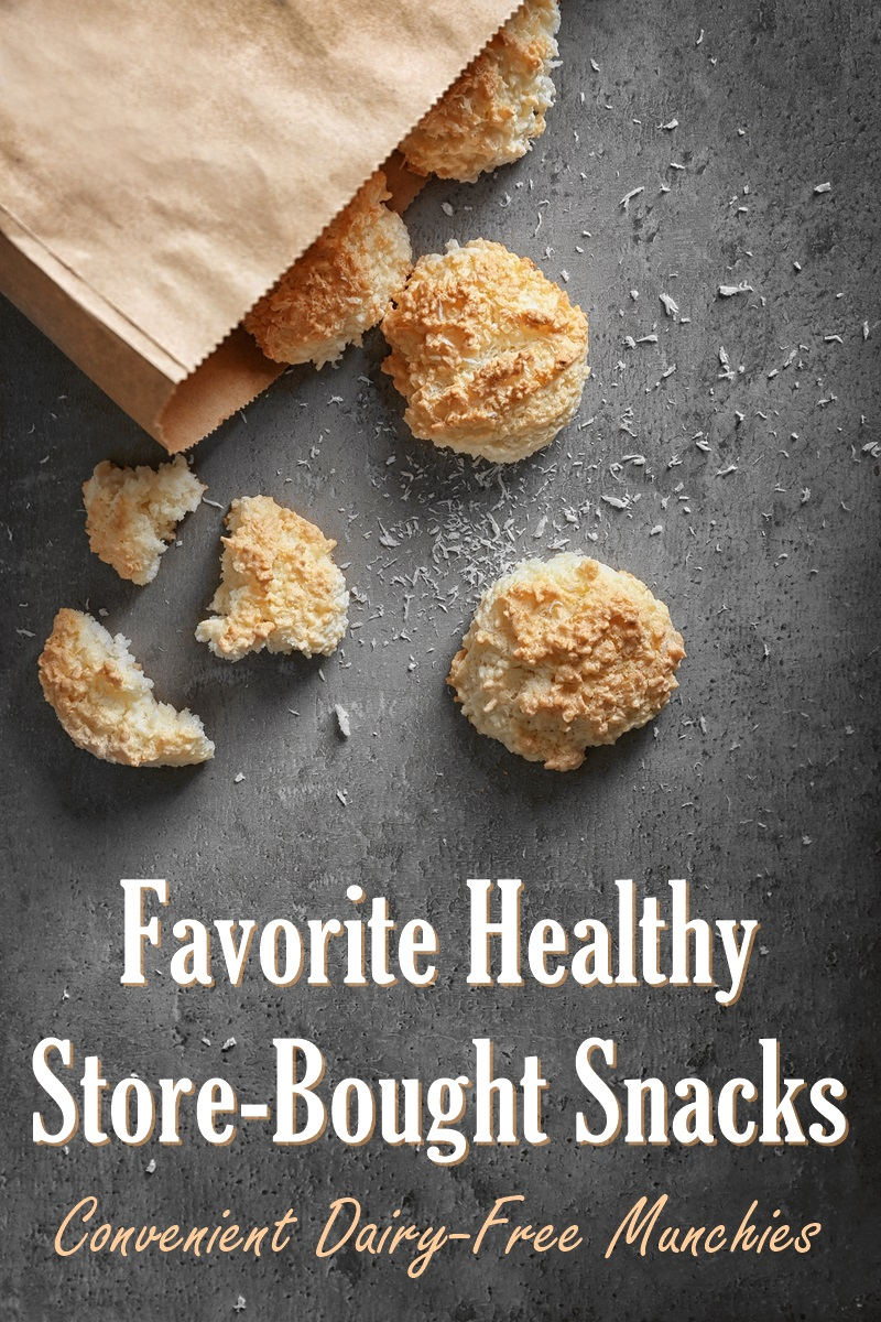 Our Favorite Healthy Store Bought Snacks for dairy-free living